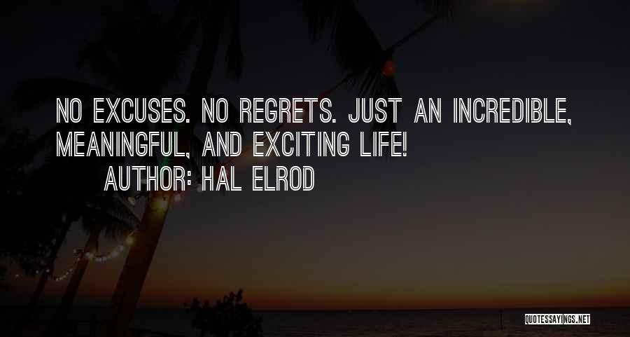 An Exciting Life Quotes By Hal Elrod
