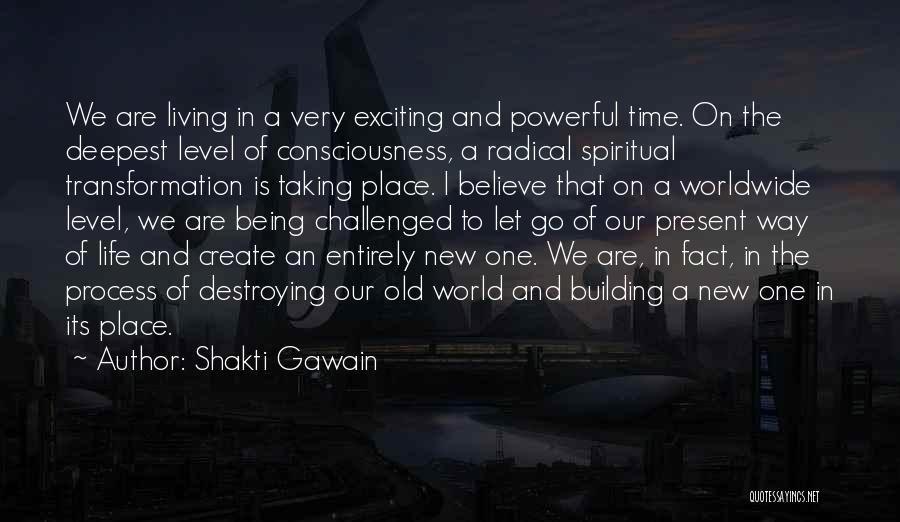 An Exciting Life Quotes By Shakti Gawain