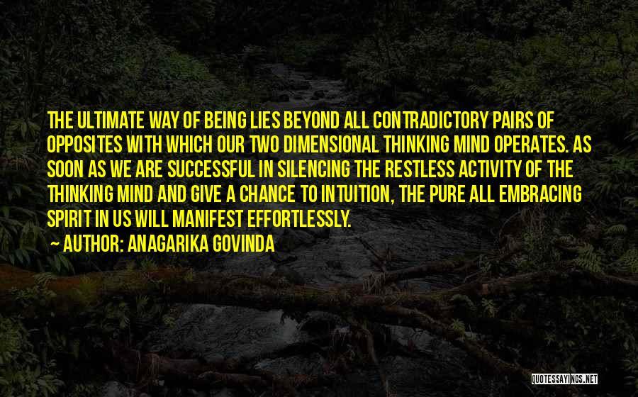 Anagarika Govinda Quotes 476585