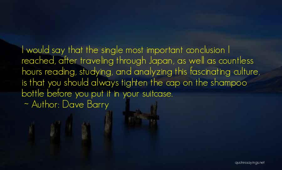 Analyzing Things Quotes By Dave Barry
