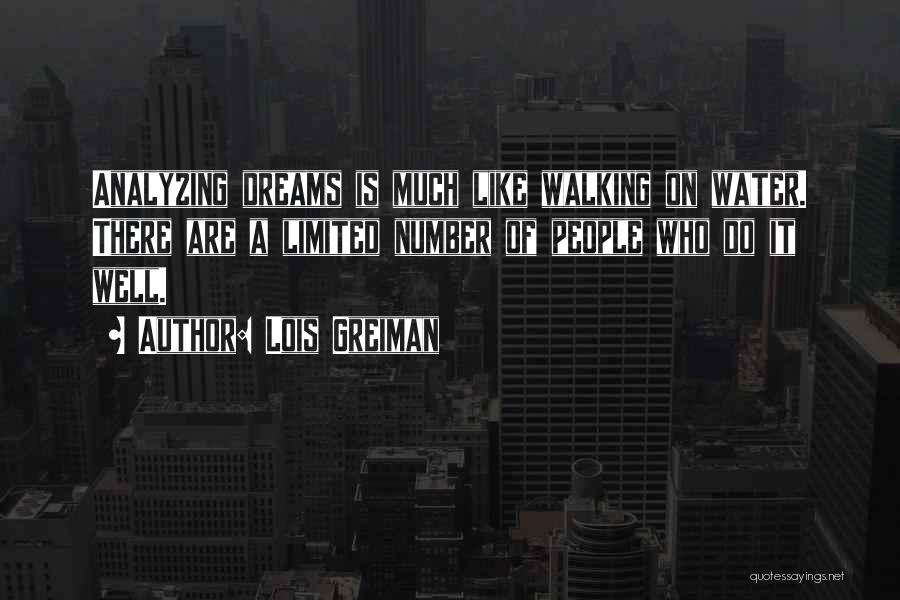 Analyzing Things Quotes By Lois Greiman