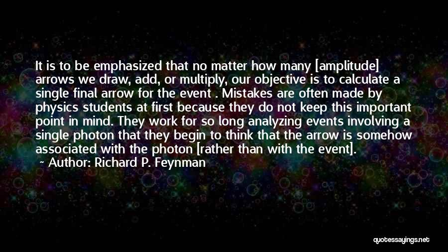 Analyzing Things Quotes By Richard P. Feynman