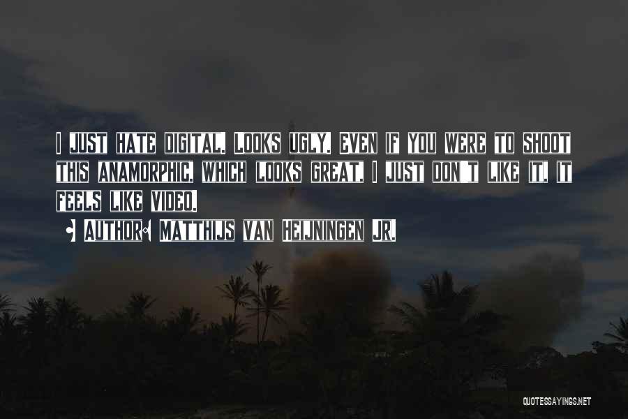 Anamorphic Quotes By Matthijs Van Heijningen Jr.