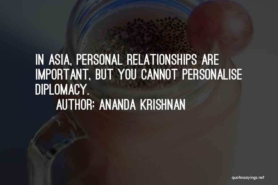 Ananda Krishnan Quotes 172119