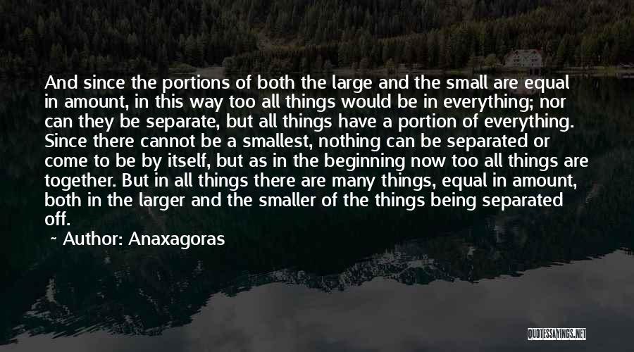 Anaxagoras Quotes 1954290