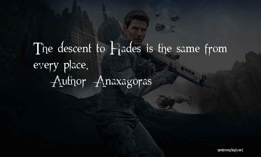 Anaxagoras Quotes 259874