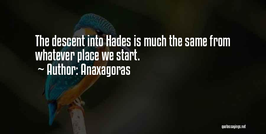 Anaxagoras Quotes 951884
