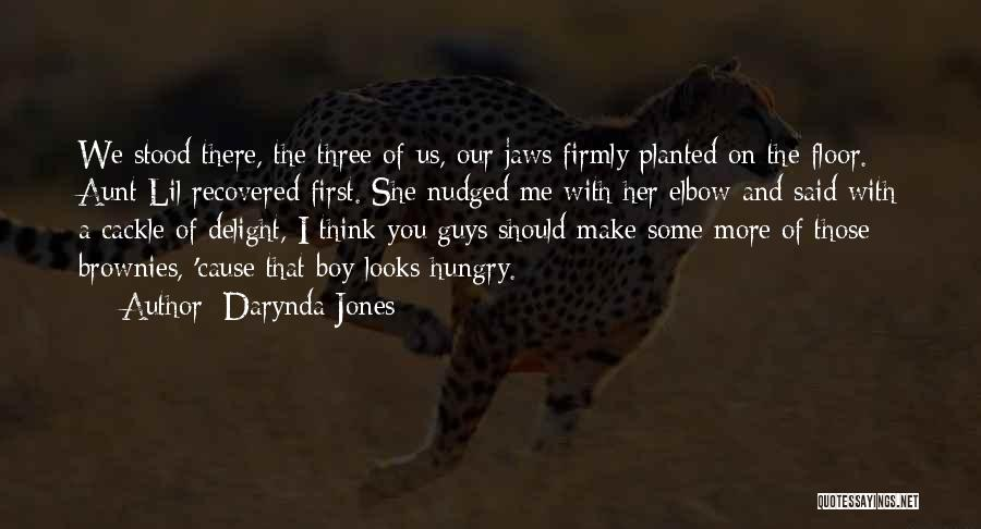 And There She Stood Quotes By Darynda Jones