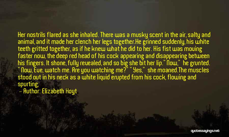 And There She Stood Quotes By Elizabeth Hoyt
