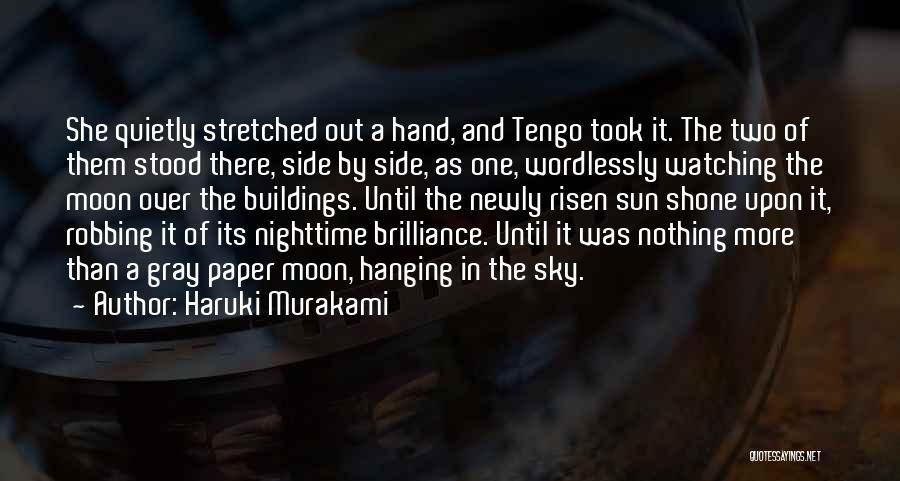 And There She Stood Quotes By Haruki Murakami