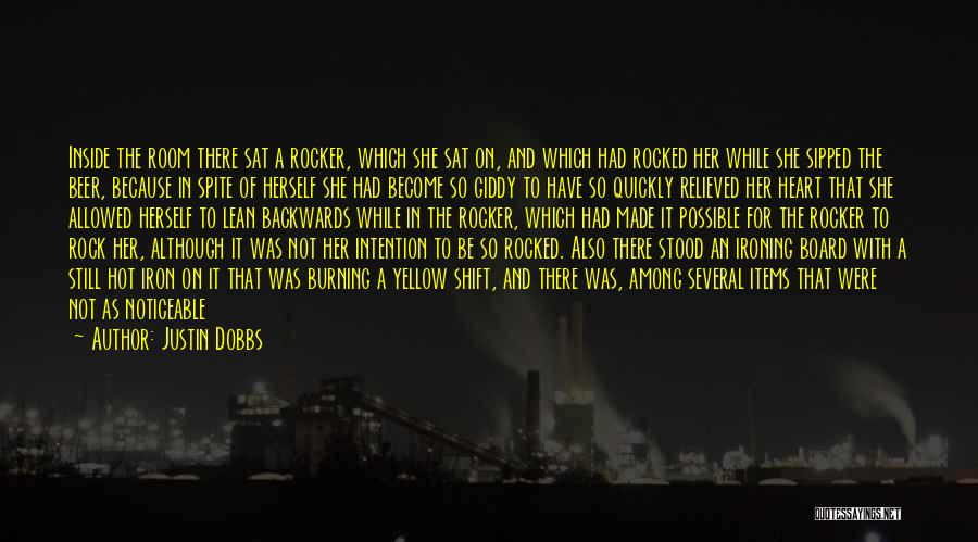 And There She Stood Quotes By Justin Dobbs
