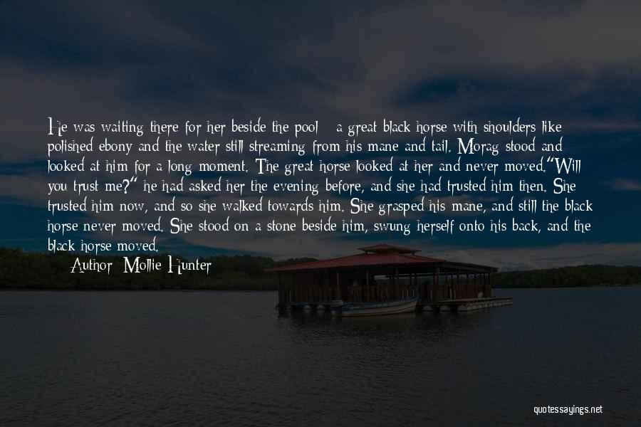 And There She Stood Quotes By Mollie Hunter