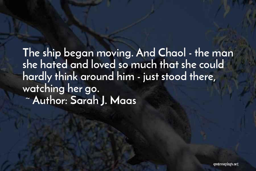 And There She Stood Quotes By Sarah J. Maas