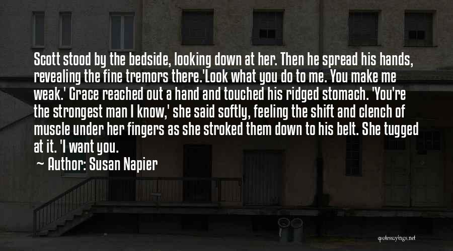 And There She Stood Quotes By Susan Napier