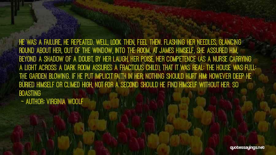 And There She Stood Quotes By Virginia Woolf
