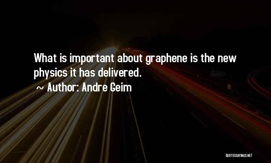 Andre Geim Quotes 1446834