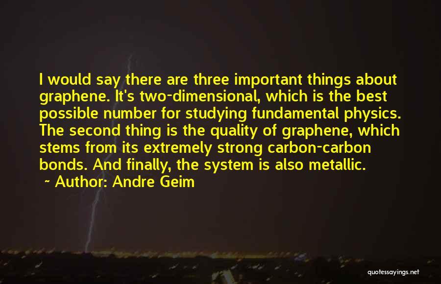 Andre Geim Quotes 1889639