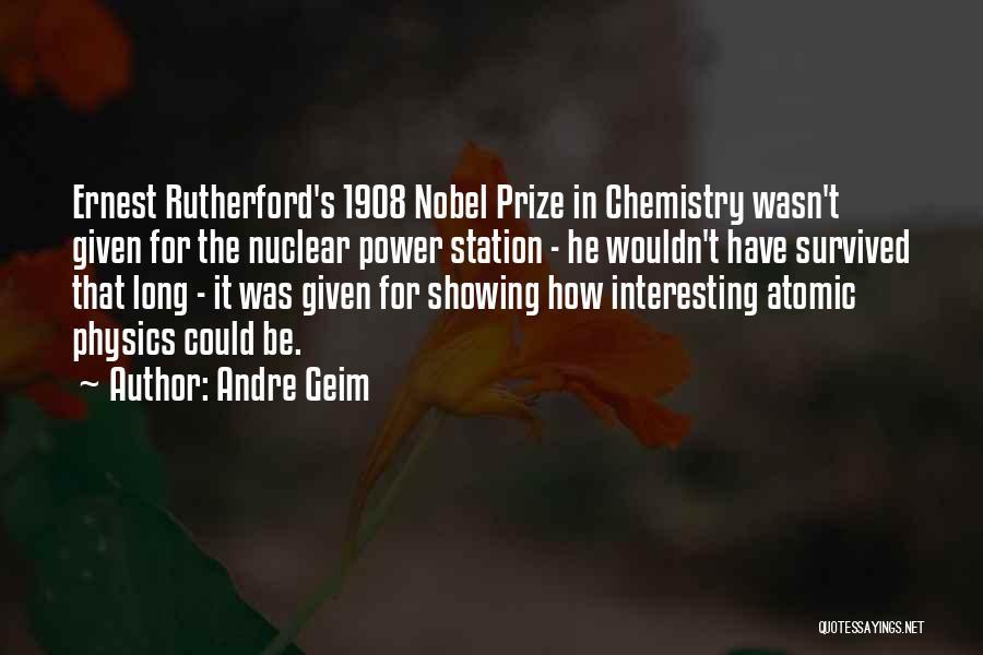 Andre Geim Quotes 206428