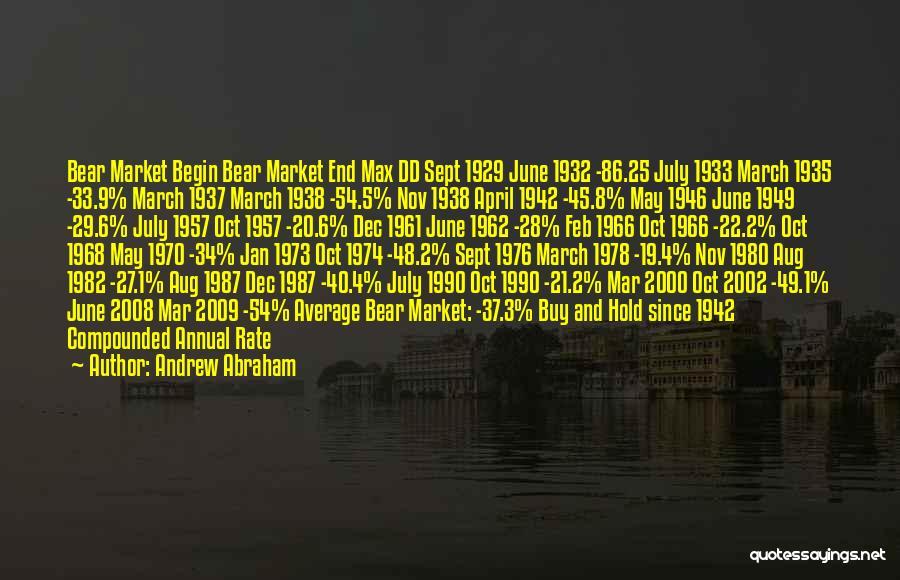 Andrew Abraham Quotes 667523