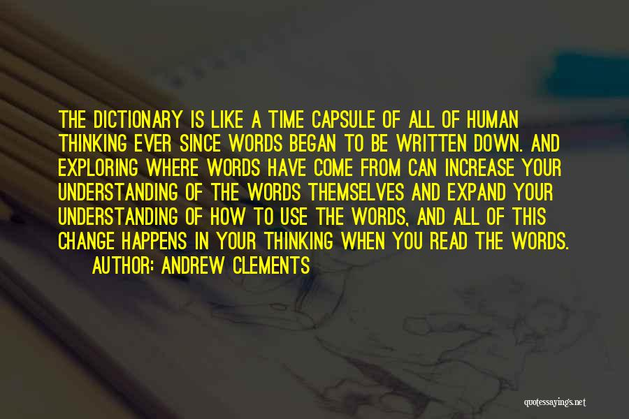 Andrew Clements Quotes 1852775