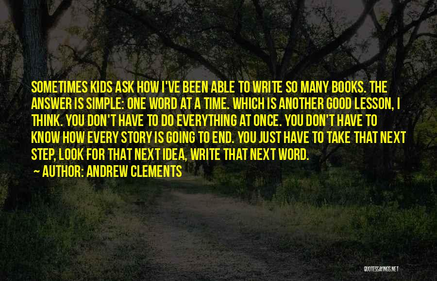 Andrew Clements Quotes 89183