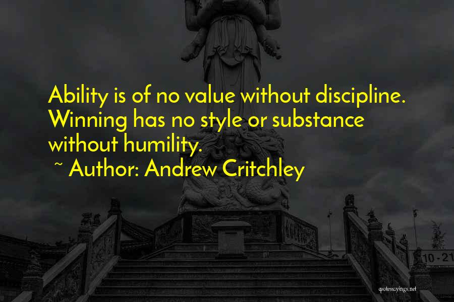 Andrew Critchley Quotes 1570807