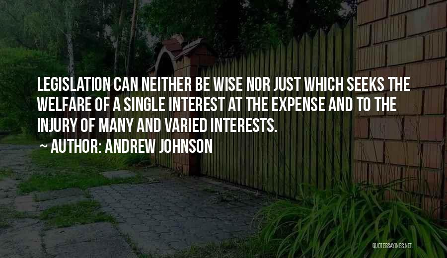 Andrew Johnson Quotes 1598345