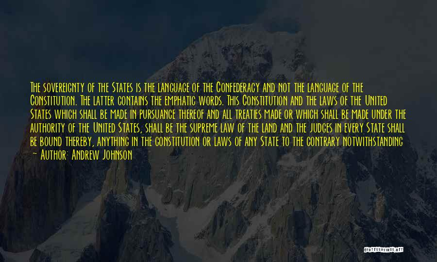 Andrew Johnson Quotes 315300