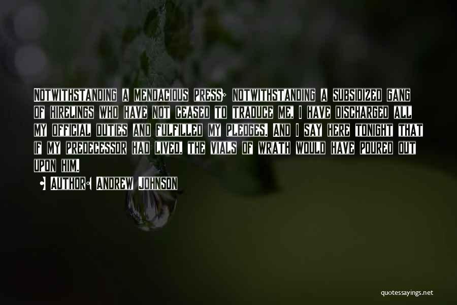 Andrew Johnson Quotes 338373