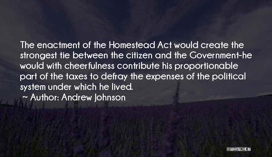 Andrew Johnson Quotes 747359