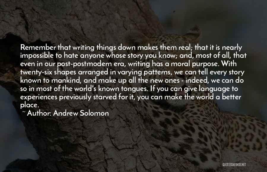 Andrew Solomon Quotes 1104838