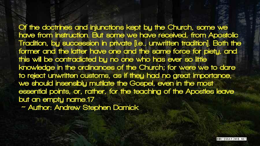 Andrew Stephen Damick Quotes 145266
