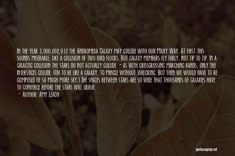 Andromeda Galaxy Quotes By Amy Leach