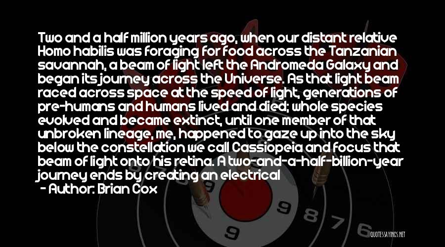 Andromeda Galaxy Quotes By Brian Cox