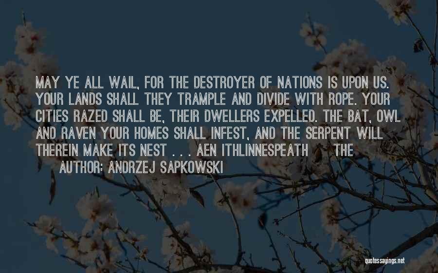 Andrzej Sapkowski Quotes 1234861