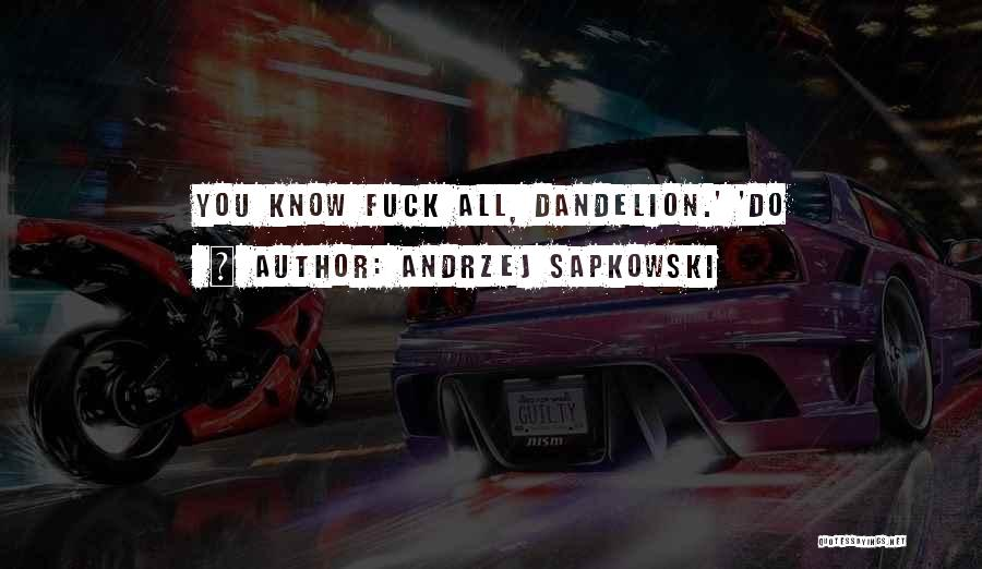 Andrzej Sapkowski Quotes 1656781