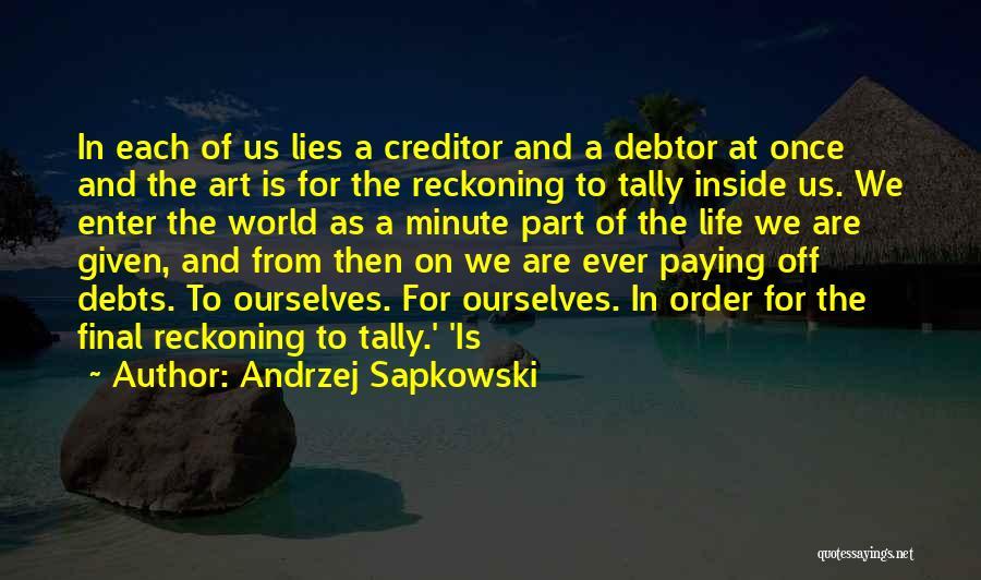 Andrzej Sapkowski Quotes 1859612