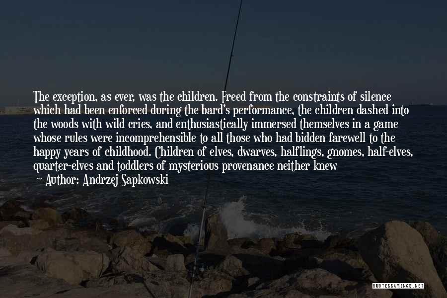 Andrzej Sapkowski Quotes 577823