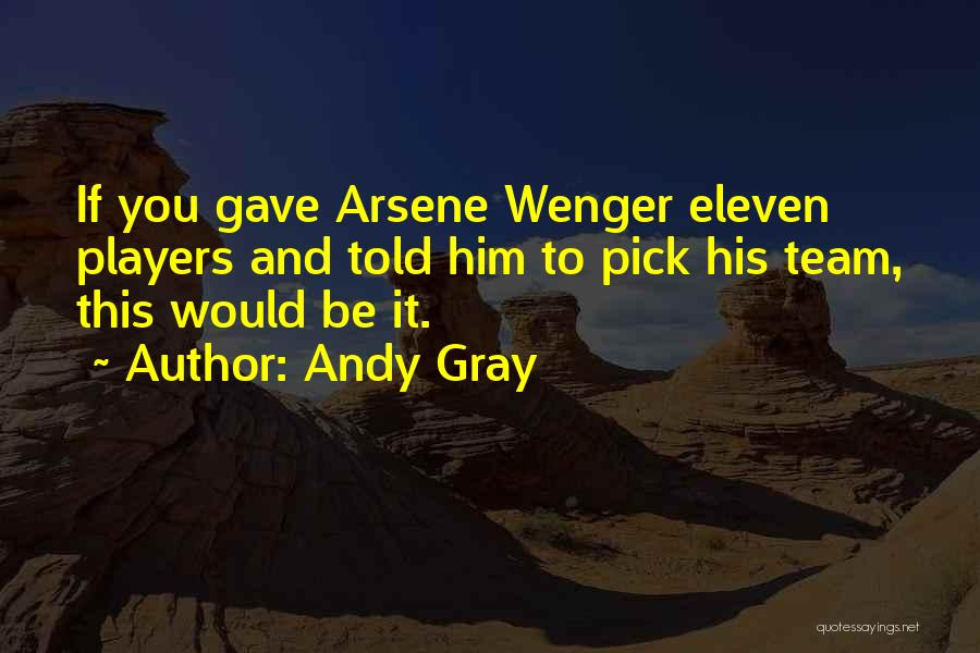 Andy Gray Best Quotes By Andy Gray