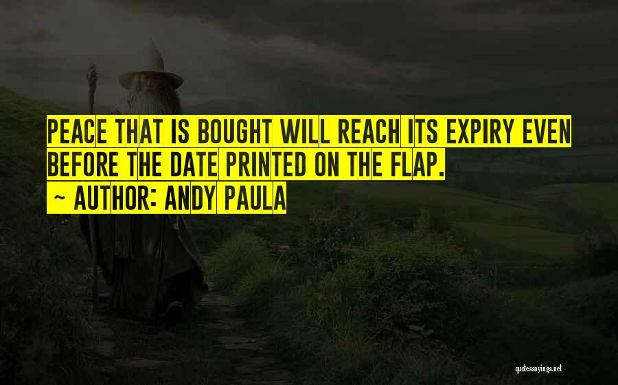 Andy Paula Quotes 814601