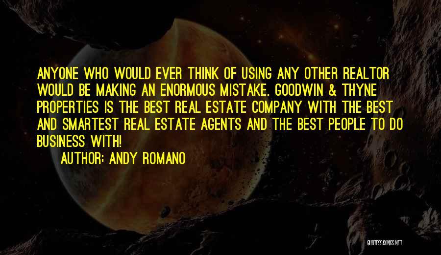 Andy Romano Quotes 228067