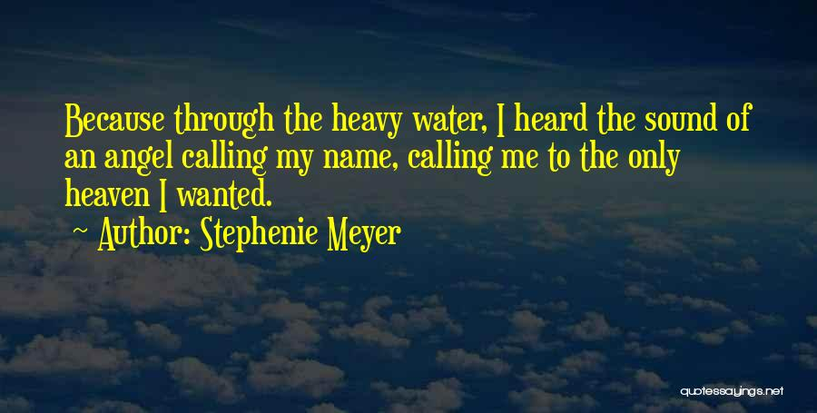 Angel In Heaven Death Quotes By Stephenie Meyer