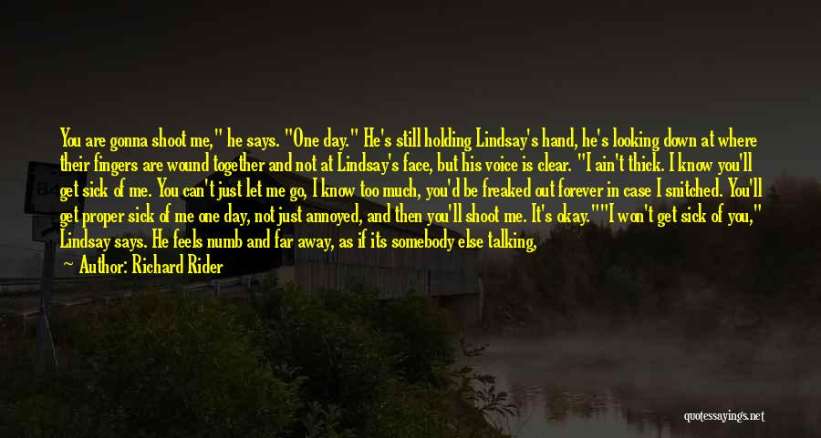 Angel Station Quotes By Richard Rider