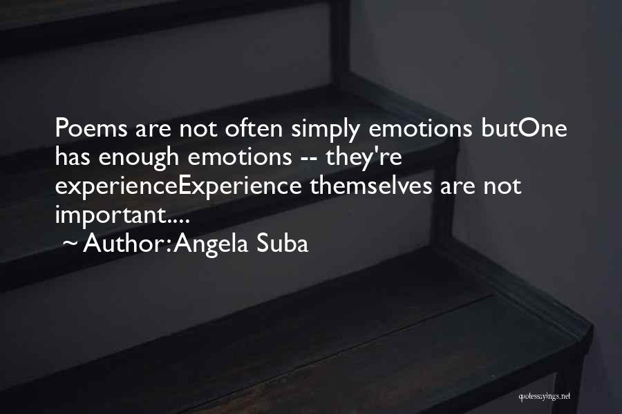 Angela Suba Quotes 772505