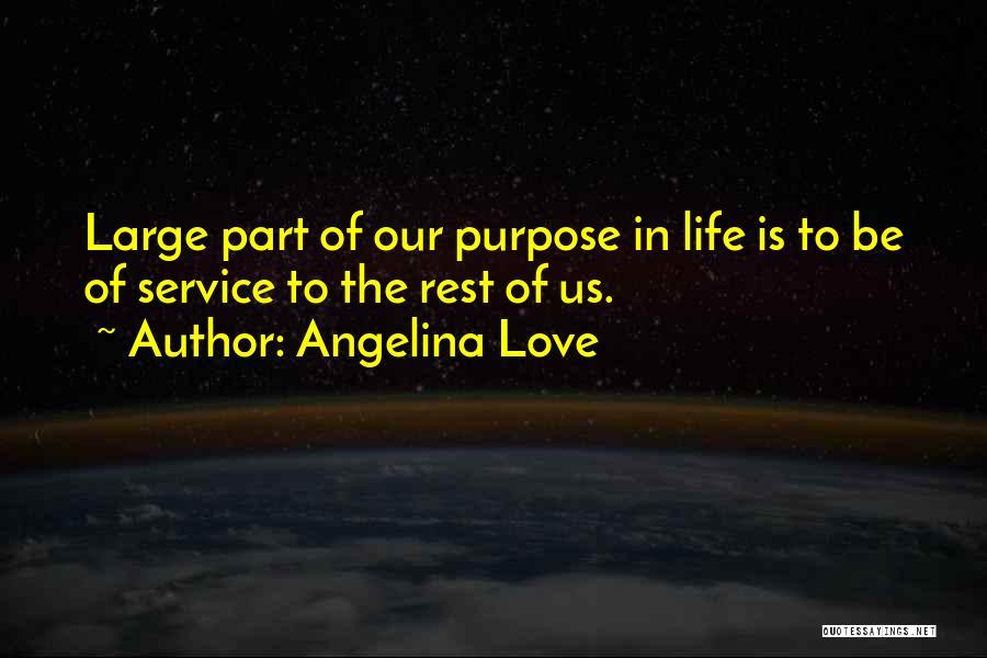 Angelina Love Quotes 1070829