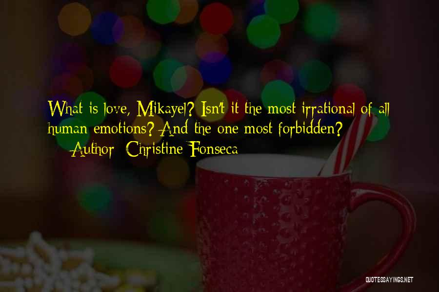 Angels And Demons Love Quotes By Christine Fonseca