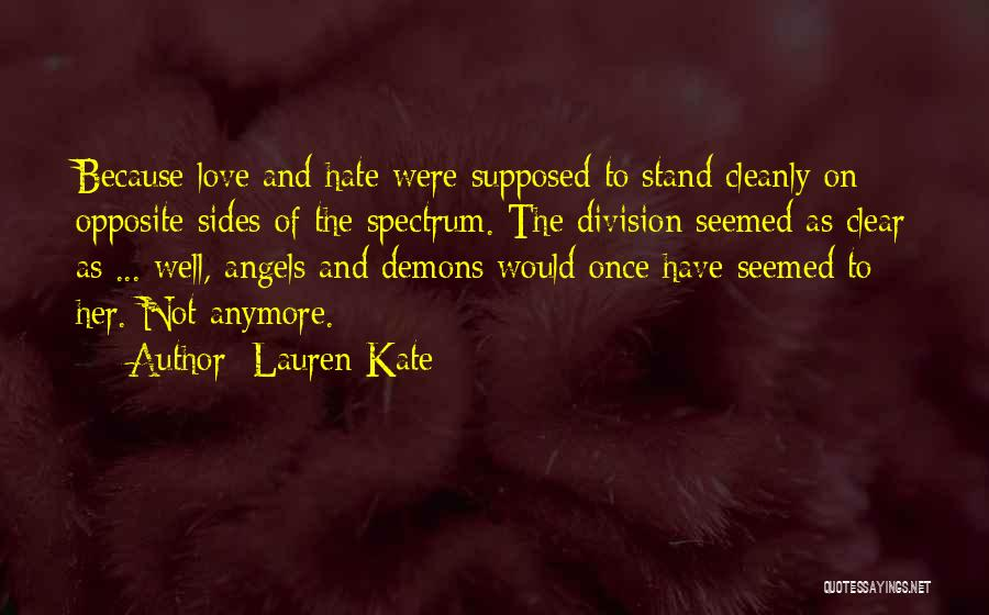 Angels And Demons Love Quotes By Lauren Kate