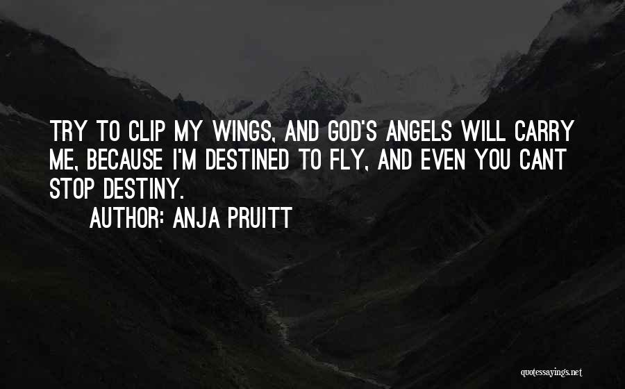 Angels Wings Quotes By Anja Pruitt