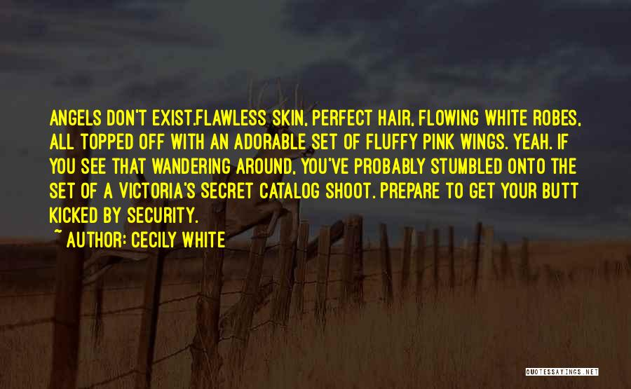 Angels Wings Quotes By Cecily White