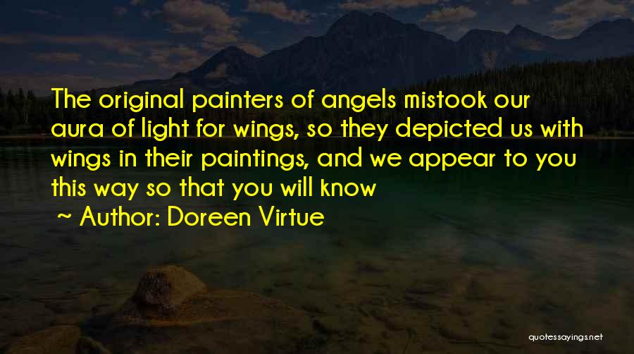 Angels Wings Quotes By Doreen Virtue